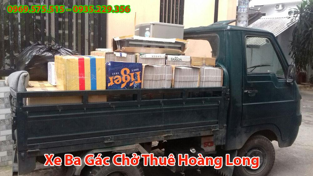 Xe Ba Gác Chở Thuê Hoàng Long