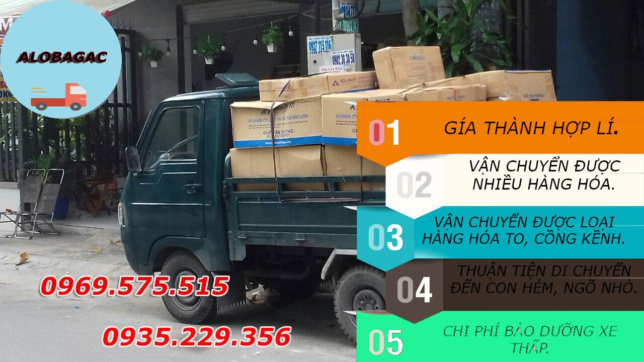 xe ba gác chở hàng giá rẻ