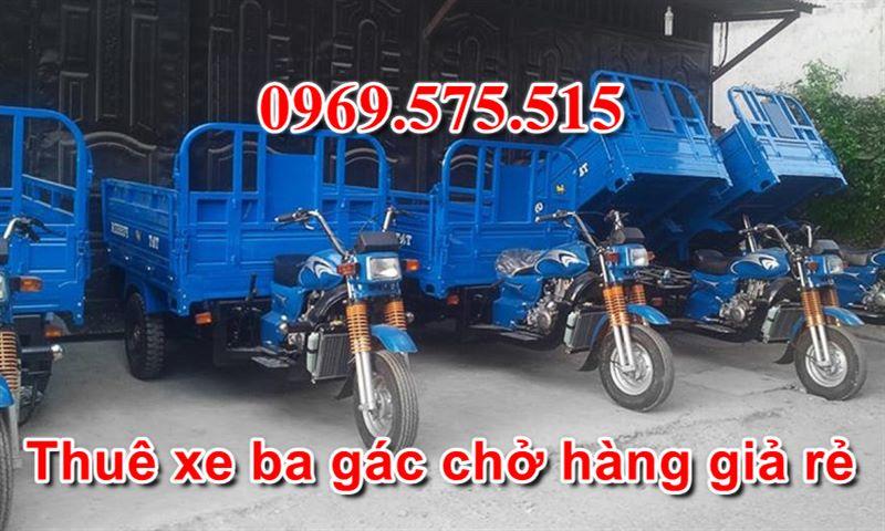 thuê xe ba gác chở hàng giá rẻ