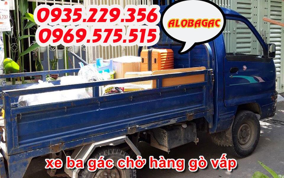 xe ba gác chở hàng Gò Vấp
